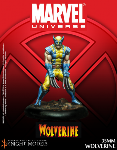 Knight Models - MARVEL Wolverine  35mm Miniature