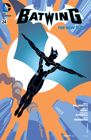 Batwing  VOL 4 Welcome to the Family TP New 52