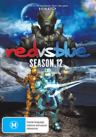 Red VS Blue - Season 12 DVD [Region Free]