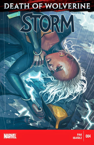 Storm - Issue #4 Death of Wolverine