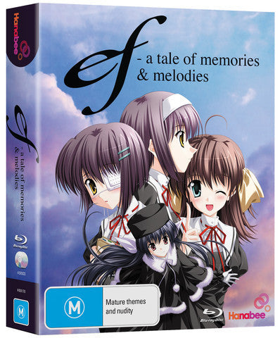 Ef - A Tale of Memories and Melodies - Anime Blu-Ray Box Set [Region A & B]