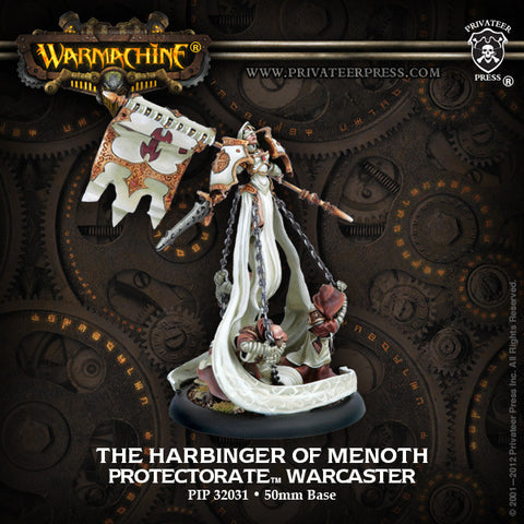 Warmachine - Protectorate of Menoth Harbinger of Menoth Warcaster