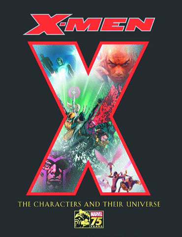 X-Men 75 Years Characters & Their Universe HC