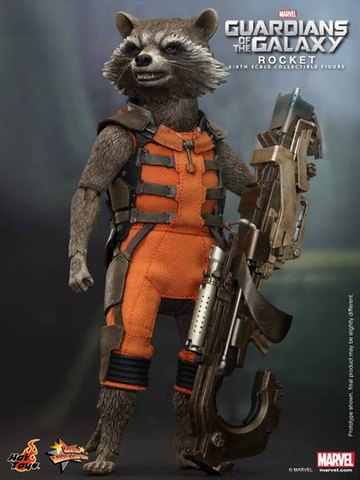Guardians of the Galaxy - Rocket 1/6 Scale Hot Toys Action Figure  ***PRE-ORDER NOW***