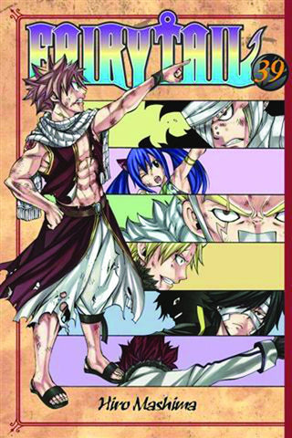 Fairy Tail - Manga Vol 39