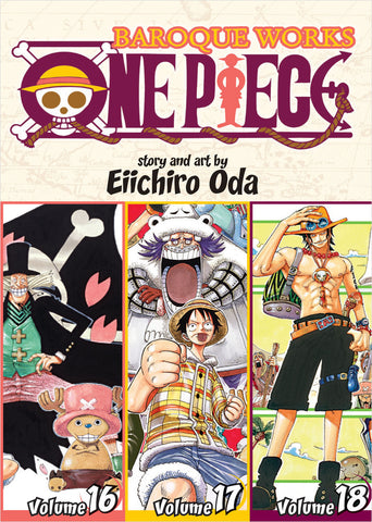 One Piece - Manga 3-in-1 Vol 006 (Volumes 16, 17, 18)