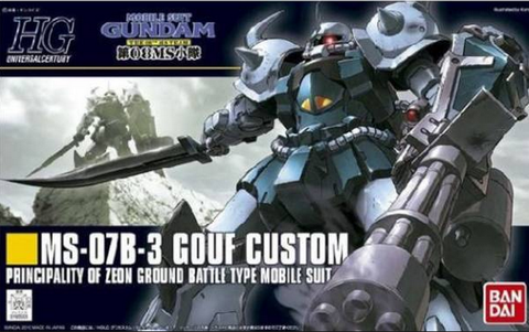 Gundam - 1/144 HGUC MS-07B3 Gouf Custom Model Kit
