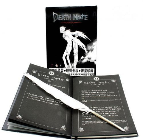 Death Note - Note Book with Feather Pen