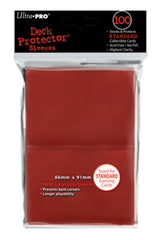 Ultra Pro Deck Protector - Standard 100ct Red