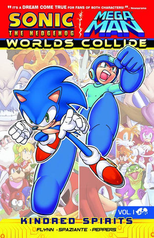 Sonic and Mega Man - Worlds Collide VOL 1 TP