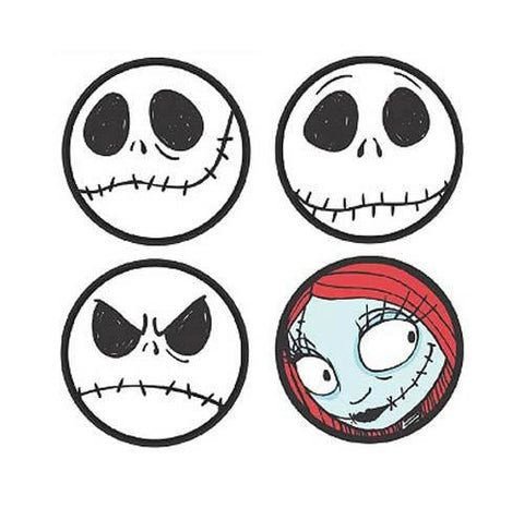 Nightmare Before Christmas - Coaster Set 4-Pack