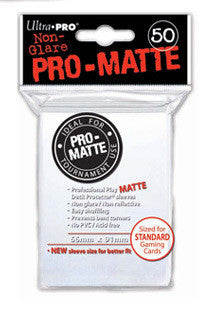 Ultra Pro - Deck Protector - Standard Size - 50 Pack - White