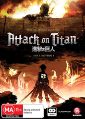 Attack on Titan - Anime Collection 001 DVD [REGION 4]