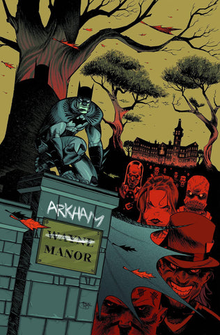 Arkham Manor - New 52 Issue #1