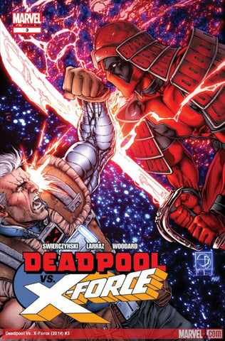 Deadpool - Deadpool VS X-Force Comic Issue #3 (of 4)