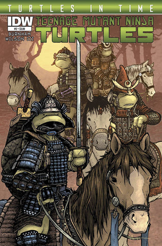 Teenage Mutant Ninja Turtles - Turtles in Time Comic Issue #2