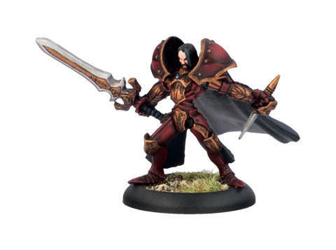 Warmachine - Khador Warcaster Prince Vladimir, Dark Prince of Umbrey Miniature