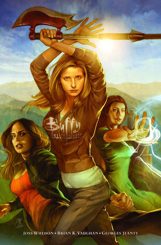 Buffy the Vampire Slayer -  Season 8 Long Way Home Library Edition Vol 001 HC