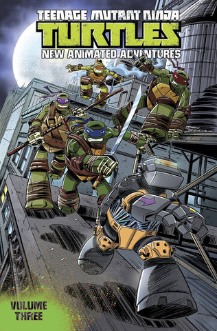TMNT NEW ANIMATED ADVENTURES TP VOL 03