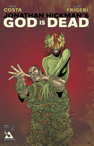 God is Dead - Comic Issue #7 Cannibal Abere Variant