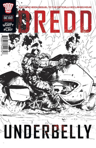 Dredd - Underbelly Movie Sequel One Shot VARIANT