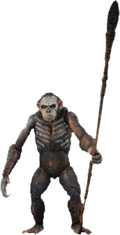 "Dawn of the Planet of the Apes - 7"" Series 1 Koba Figure"