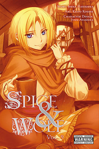 Spice and Wolf - Manga Vol 009