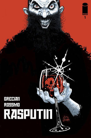 Rasputin - Issue #1 Cover B Stegman