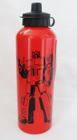 Transformers - Red Drink Bottle