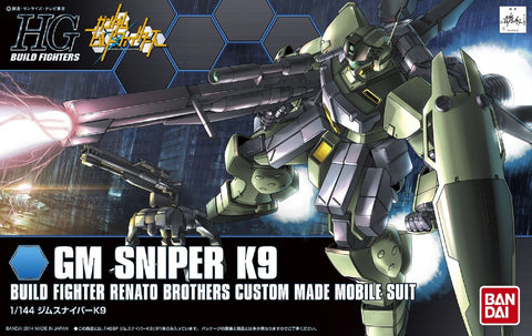 Mobile Suit Gundam - 1/144 HGBF GM Sniper K9 Model Kit