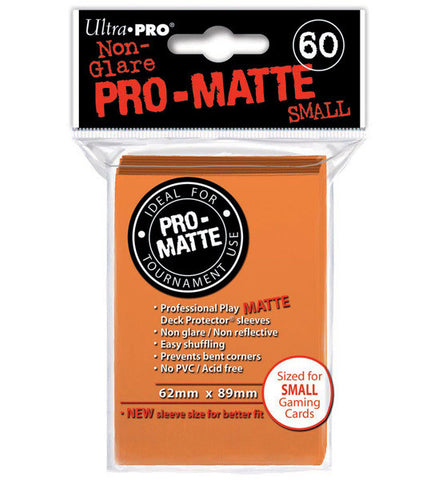Ultra Pro - Deck Protector - Small - 60 Pack - Orange