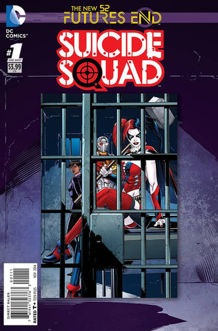 New Suicide Squad - Futures End Comic Issue #1 Special Cover