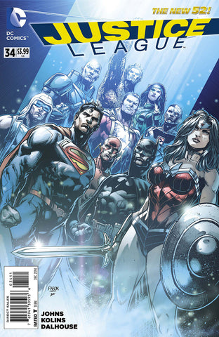Justice League - New 52 Issue #34