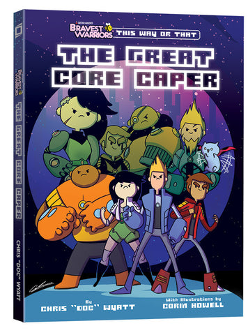 Bravest Warriors - This Way or That - The Great Core Caper TP