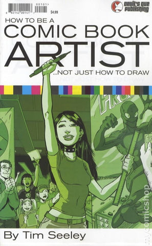 How To Be A Comic Book Artist