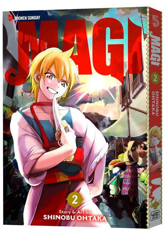 Magi - The Labyrinth of Magic Manga - Vol 002