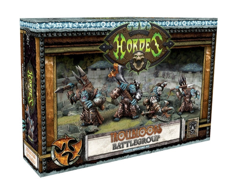 Hordes - Trollbloods Battlegroup Plastic Miniatures Kit