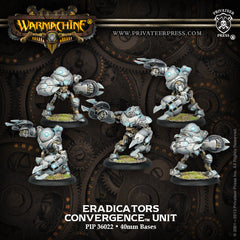 Warmachine - Convergence of Cyriss Eradicators PLASTIC Unit BOX (5 Models)