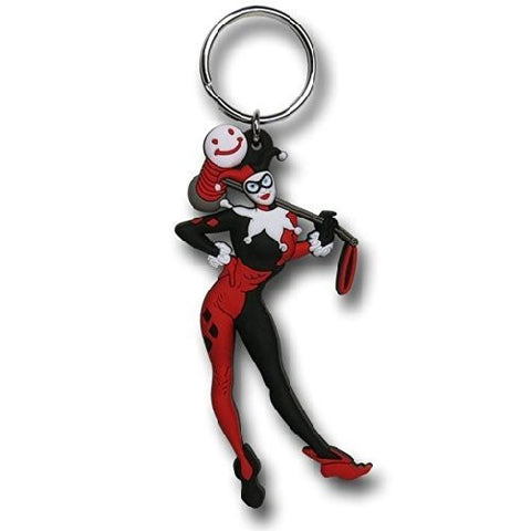 Harley Quinn - Soft Touch Keyring