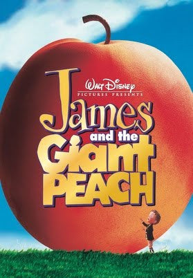 James and the Giant Peach DVD [Region 4]