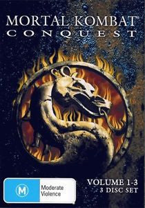 Mortal Kombat - Conquest - Volumes 1 - 3 DVD [REGION 4]
