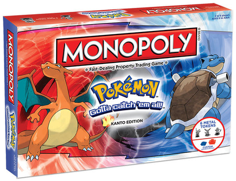 Monopoly - Pokemon Kanto Edition
