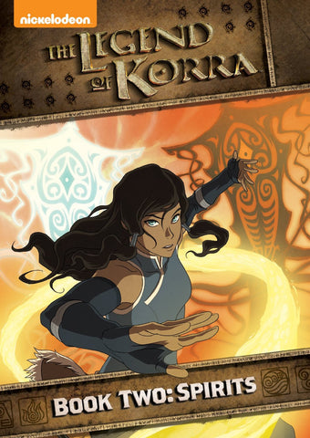Legend of Korra, The - Book Two: Spirits DVD  [Region 4]