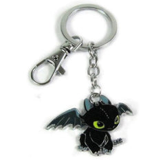 How to Train Your Dragon -  Metal Toothless Keychain