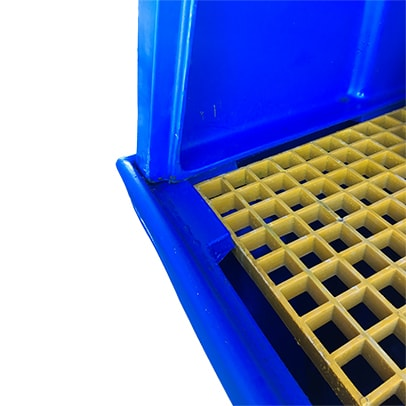 Poly Shroud to suit Single IBC Bunded Pallet