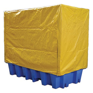 PVC Cover & Galv Frame to suit Double IBC Bunded Pallets
