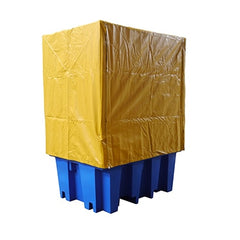 PVC Cover & Galv Frame to suit Single IBC Bunded Pallets