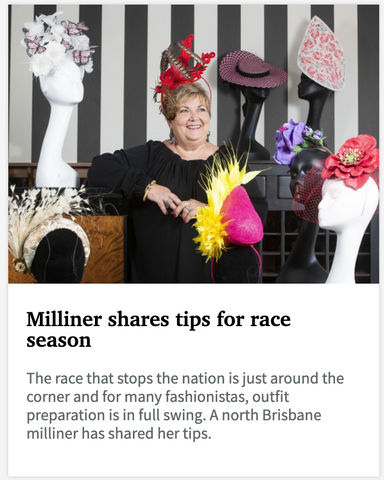 Courier Mail article featuring Dezignz By Maree