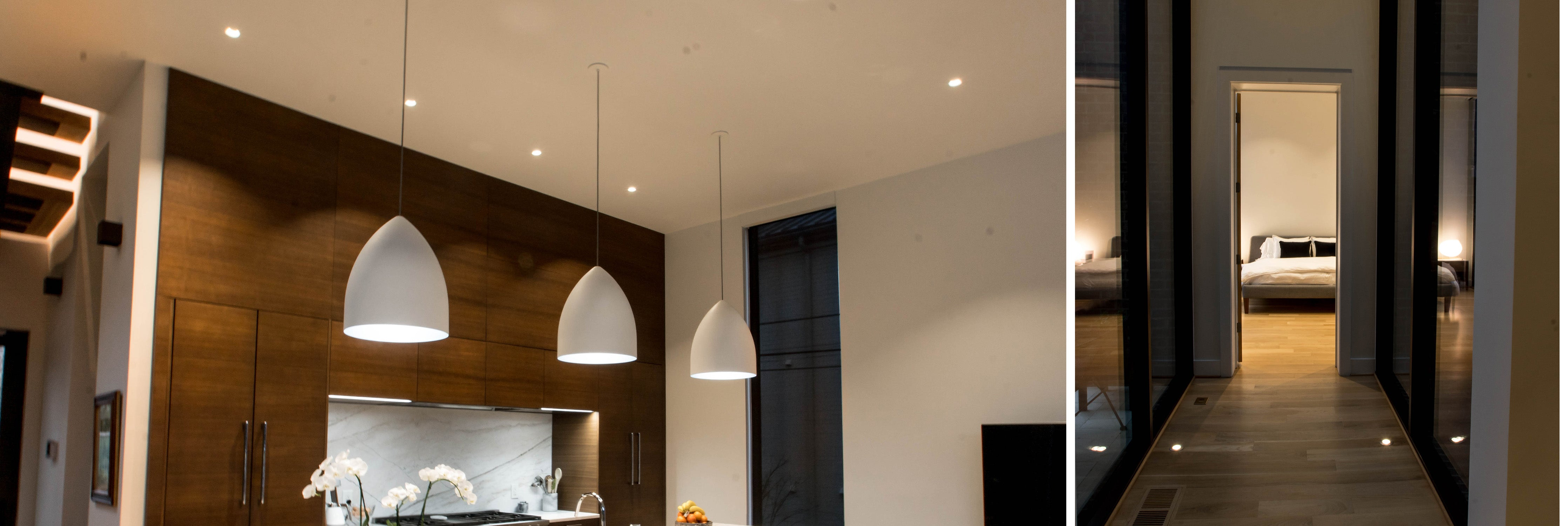 Lighting Design by Lighting and Bulbs Unlimited (Charlotte Agenda's Home of the Year 2019)