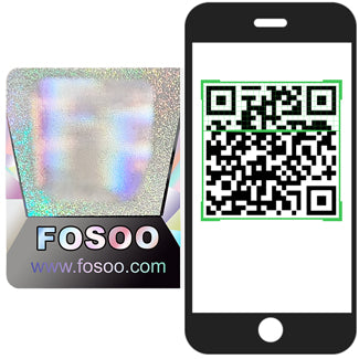 Scan the QR code on label to check